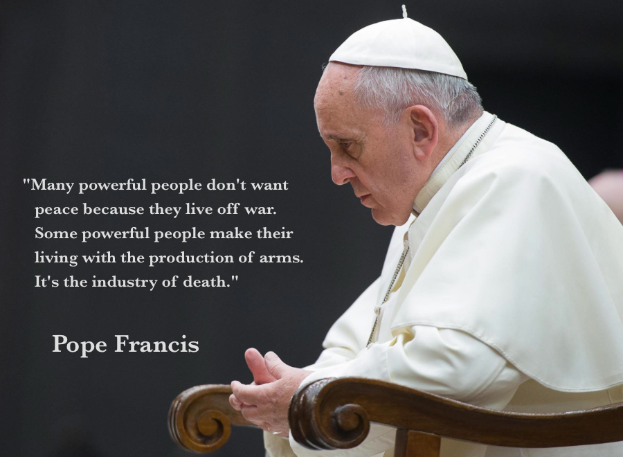 Image result for pope francis quotes many powerful people