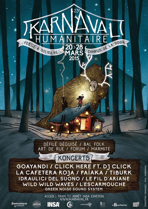 23e Karnaval Humanitaire on Behance