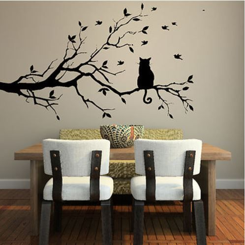 Cat Wall Stickers U2013 An Easy Way To Revamp A Room. |