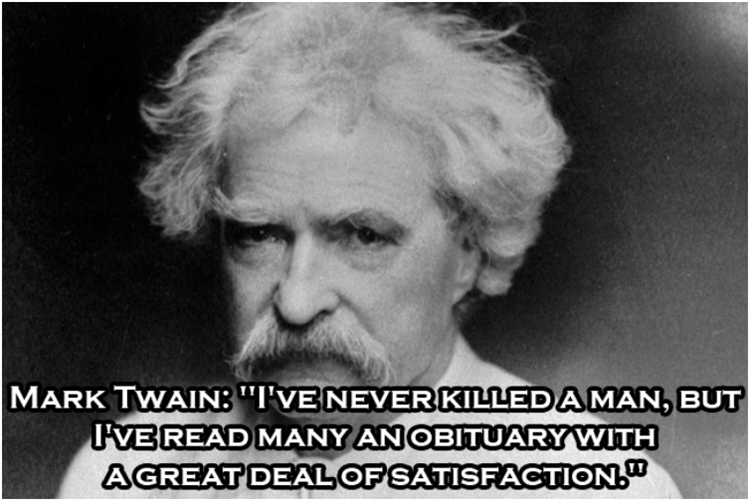 Clever Witticisms From Historical Figures 10 Pics Mark Twain Quotes Historical Quotes Mark Twain