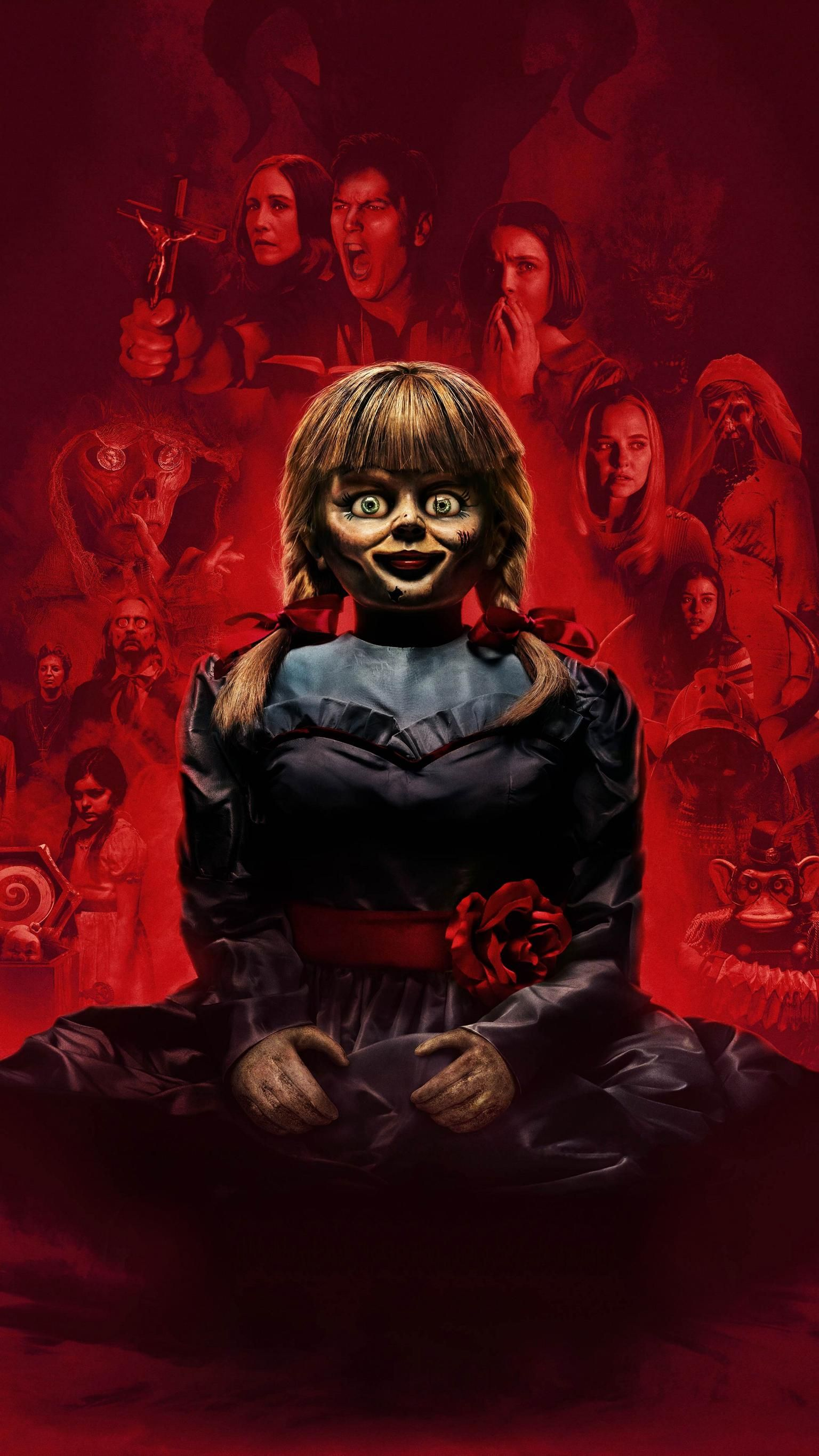 Annabelle Comes Home (2019) Phone Wallpaper Священник