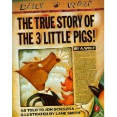 Very good book to read along with the original Three Little Pigs and do a compare/contrast.
