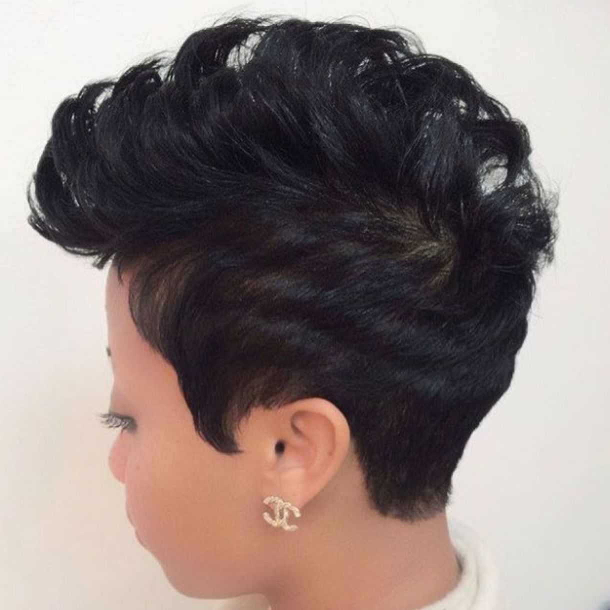 great short hairstyles for black women hair pinterest pixie
