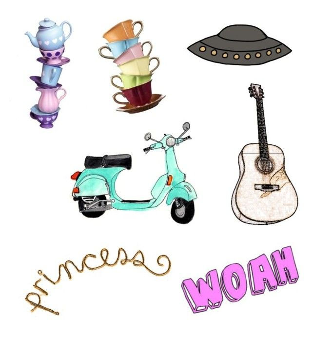 """Sticker(1)"" by indahariesta on Polyvore featuring art"