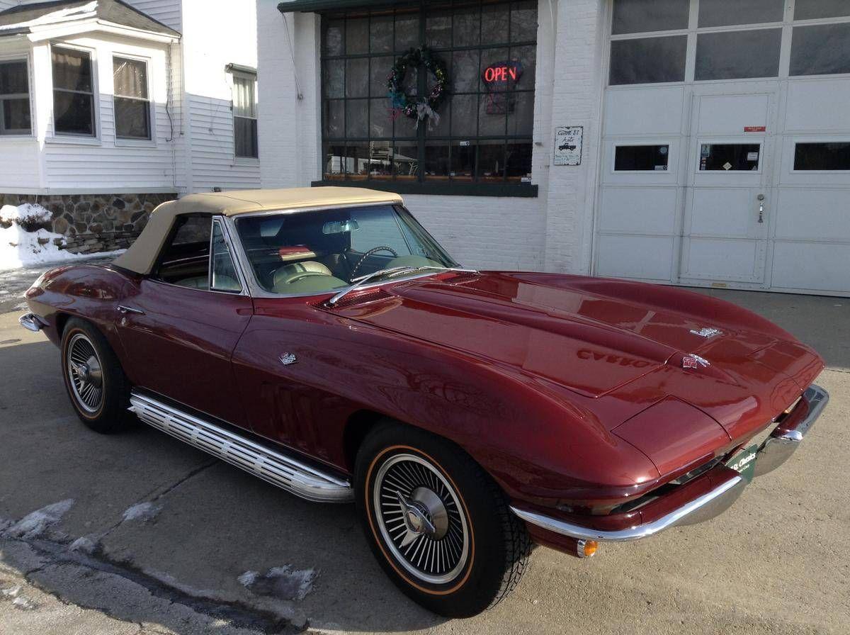 1966 Chevrolet Corvette Conv 327 300hp S Match M21 4 For Sale Hemmings Motor News Chevrolet Corvette Chevrolet Corvette
