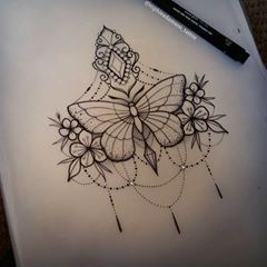 Available Flutterby 😊 Message me if youre interested!! 😚 #tattoo #butterfl... - #butterfl #Flutterby #interested #message #Tattoo #Youre