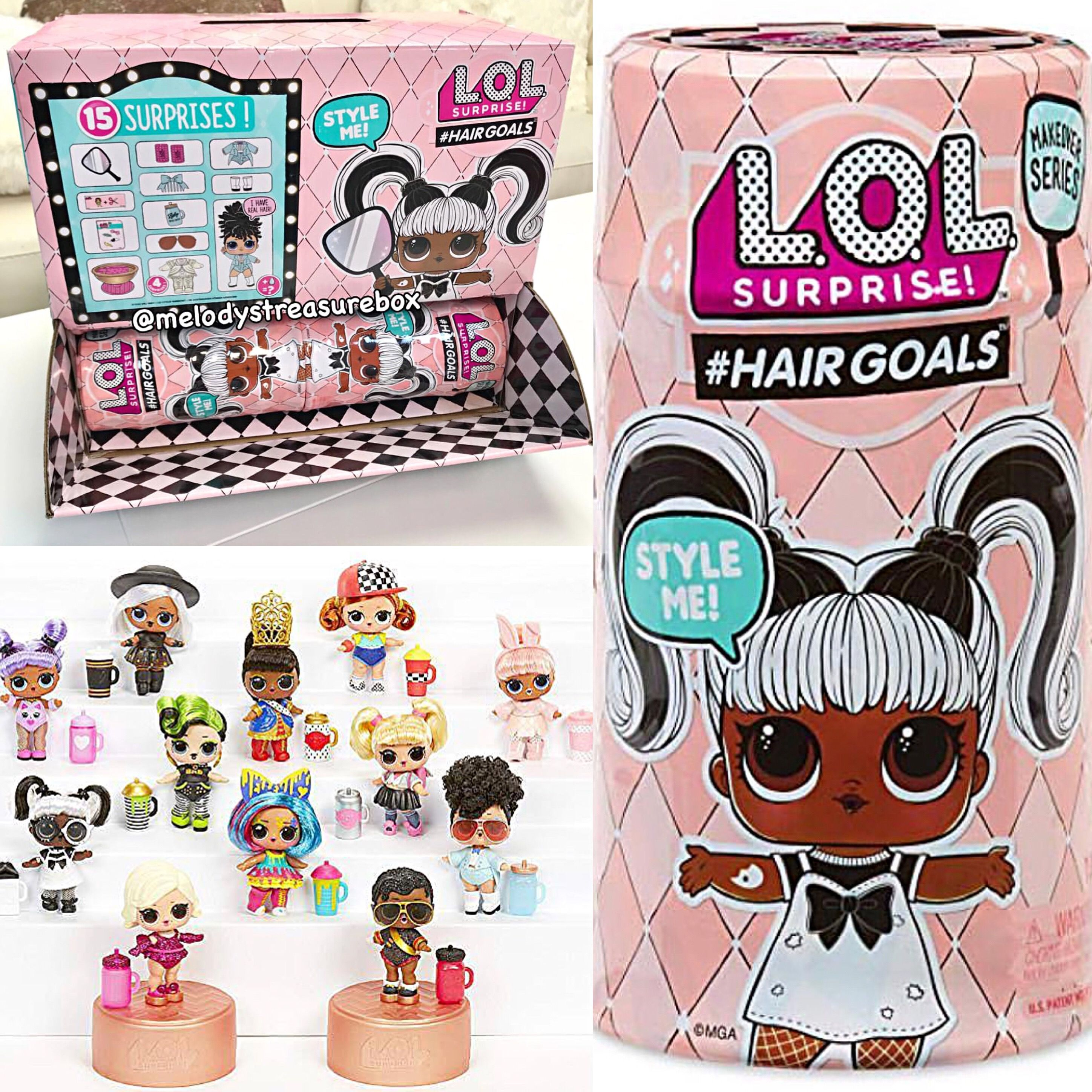 These LOL Surprise Dolls Hairgoals are a MUST HAVE for my