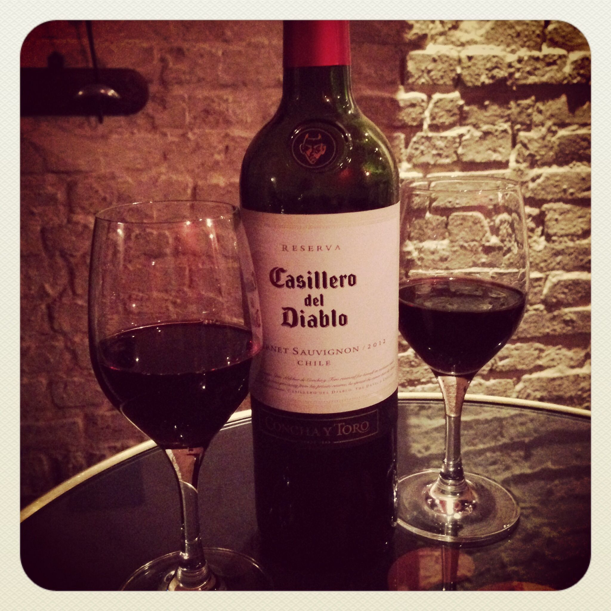Cabernet Sauvignon Chilien Deguste Au Corridor Paris Vin Rouge Champagne
