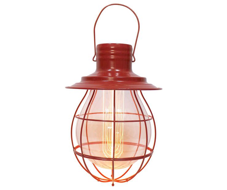 Red Battery Operated Pendant Lantern At Lots