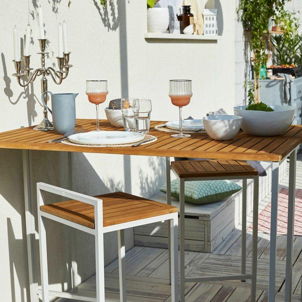 15 Idees A Suivre Pour Amenager Un Beau Coin Repas Sur La Terrasse Coin Repas Mange Debout Exterieur Et Mobilier De Salon