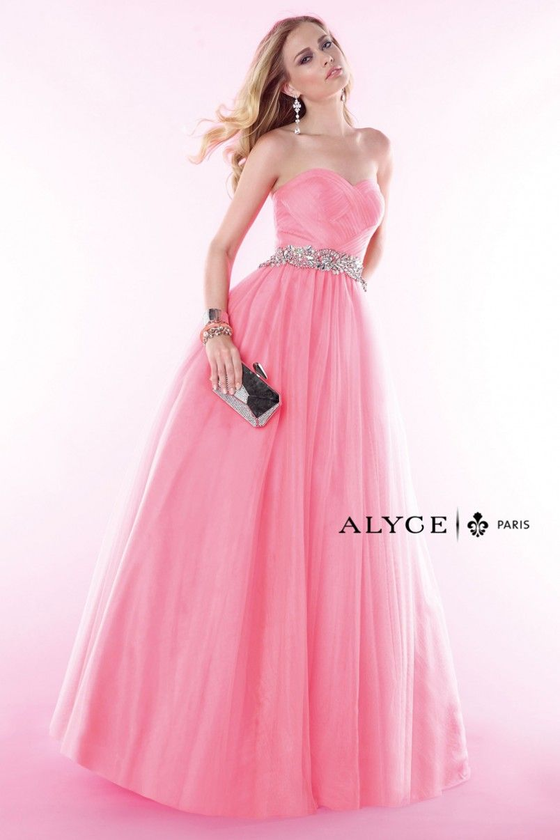 Alyce Paris | Prom Dress Style #6388 Full View New Coral | ALYCE ...