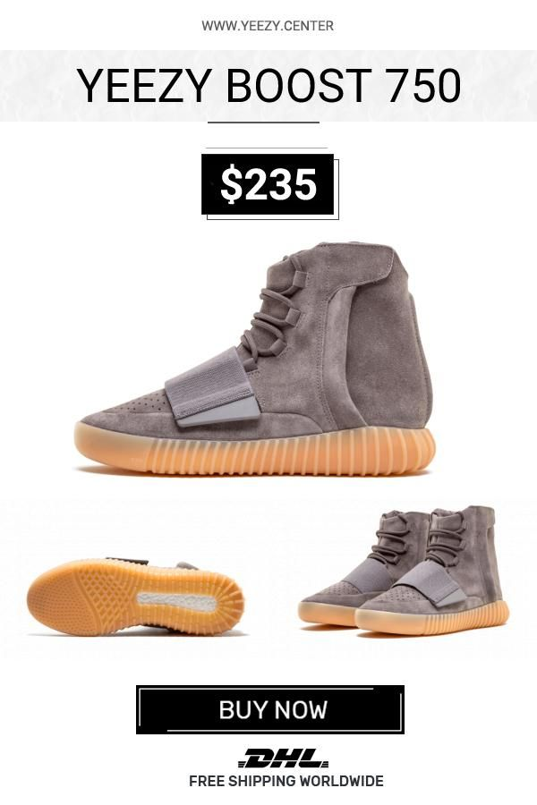 11c0829f6ac12 How to get the best Adidas Yeezy Boost 750 Light Grey   Gum replica shoes