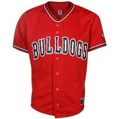 Fresno State Bulldogs Replica Baseball Jersey Cardinal Fresno State College T Shirts Bulldog