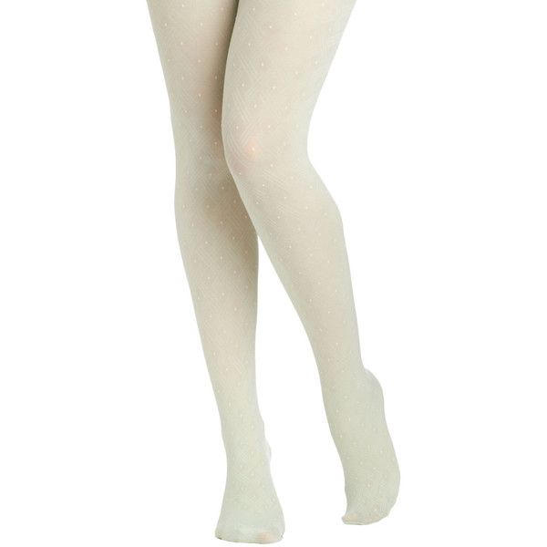 Fairy Dot-Mother Tights in Mint ($11) ❤ liked on Polyvore featuring intimates, hosiery, tights, leggings, accessories, legs, bottoms, nylon pantyhose, polka dot stockings and polka dot pantyhose