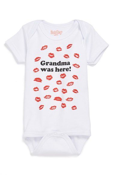 Sara Kety Baby & Kids 'Grandma Was Here' Bodysuit (Baby) available at #Nordstrom