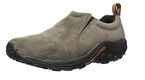 Mens Casual Shoes Trainers Leather Suede Jungle Moc Hiking Walking Slip On Size