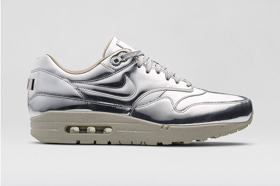 "NIKE Air Max 1 SP – ""Liquid Metal"""