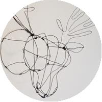 DIY Faux Taxidermy | Wire Deer Head Pinterest Project