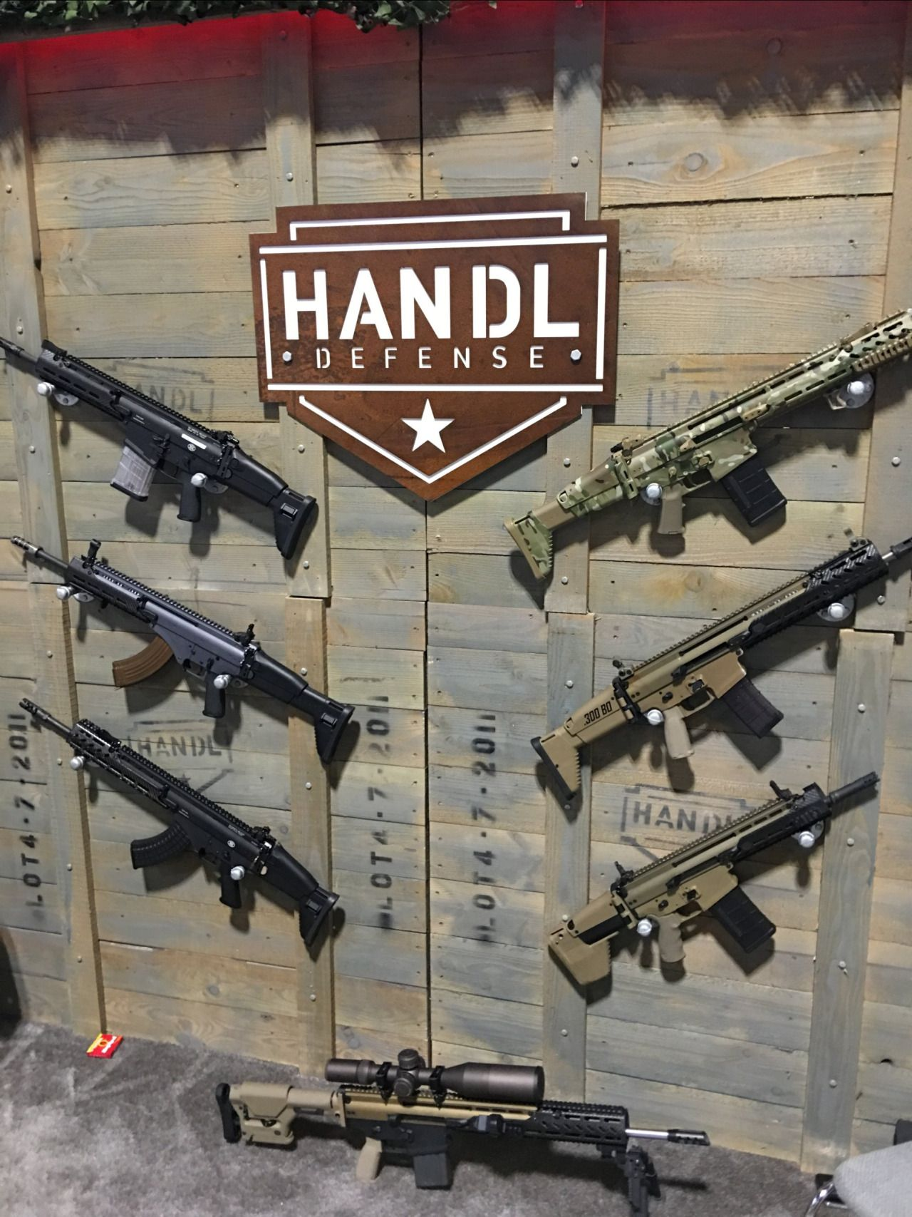 Handl Defense Modular Aftermarket FN SCAR (MK-16 and MK-17