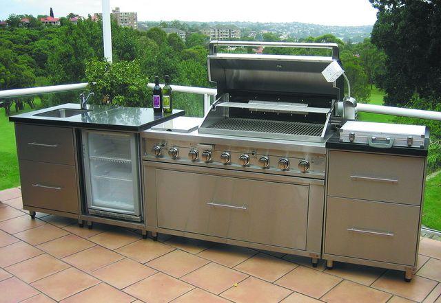 modular outdoor kitchens melbourne outdoor kitchen concepts - Prefab Outdoor Kitchen