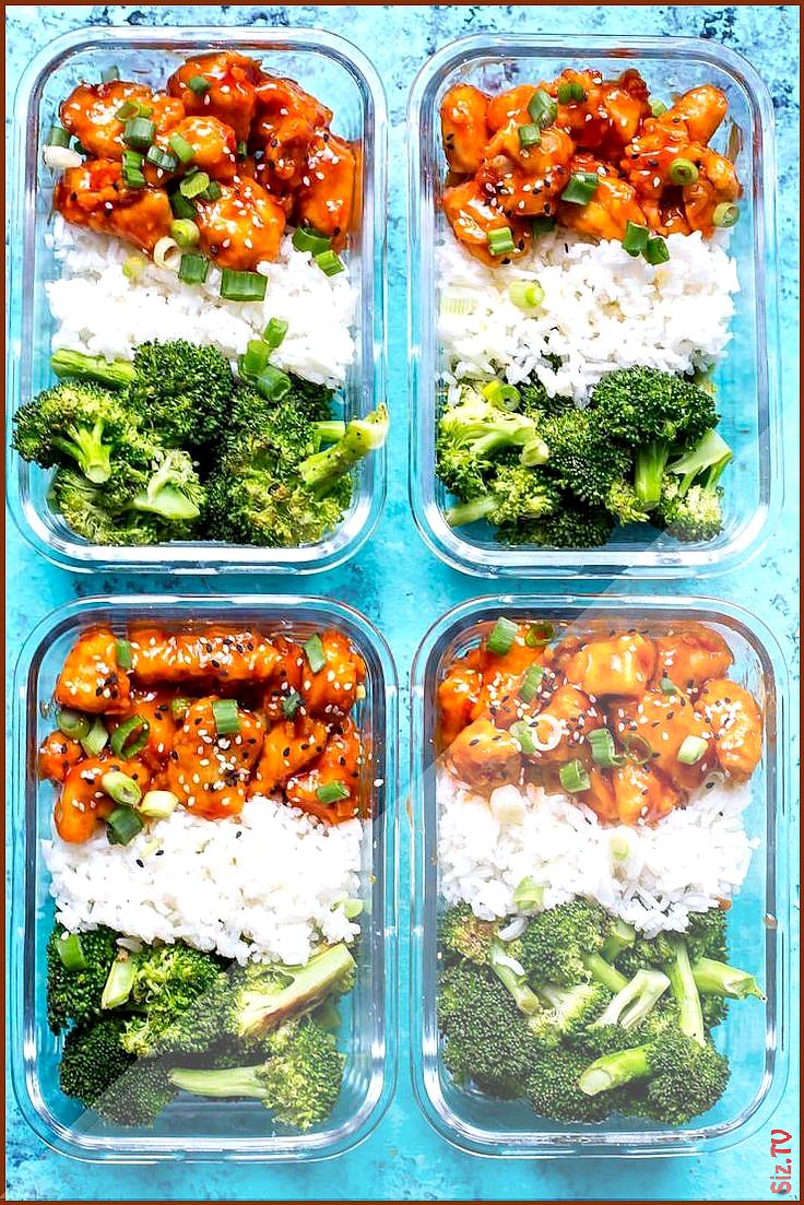 40 Mahlzeit-Vorbereitungs-Ideen damit Anf nger gesundes Essen einfacher bilden 40 Mahlzeit-Vorbereit...