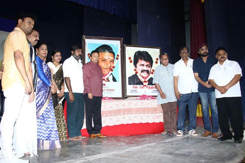 Actor Nassar at 33rd Anniversary of late Dr Ishari Velan