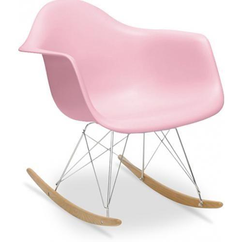 fauteuil enfant à bascule rose mat basky | À acheter | pinterest ... - Chaise A Bascule Charles Eames