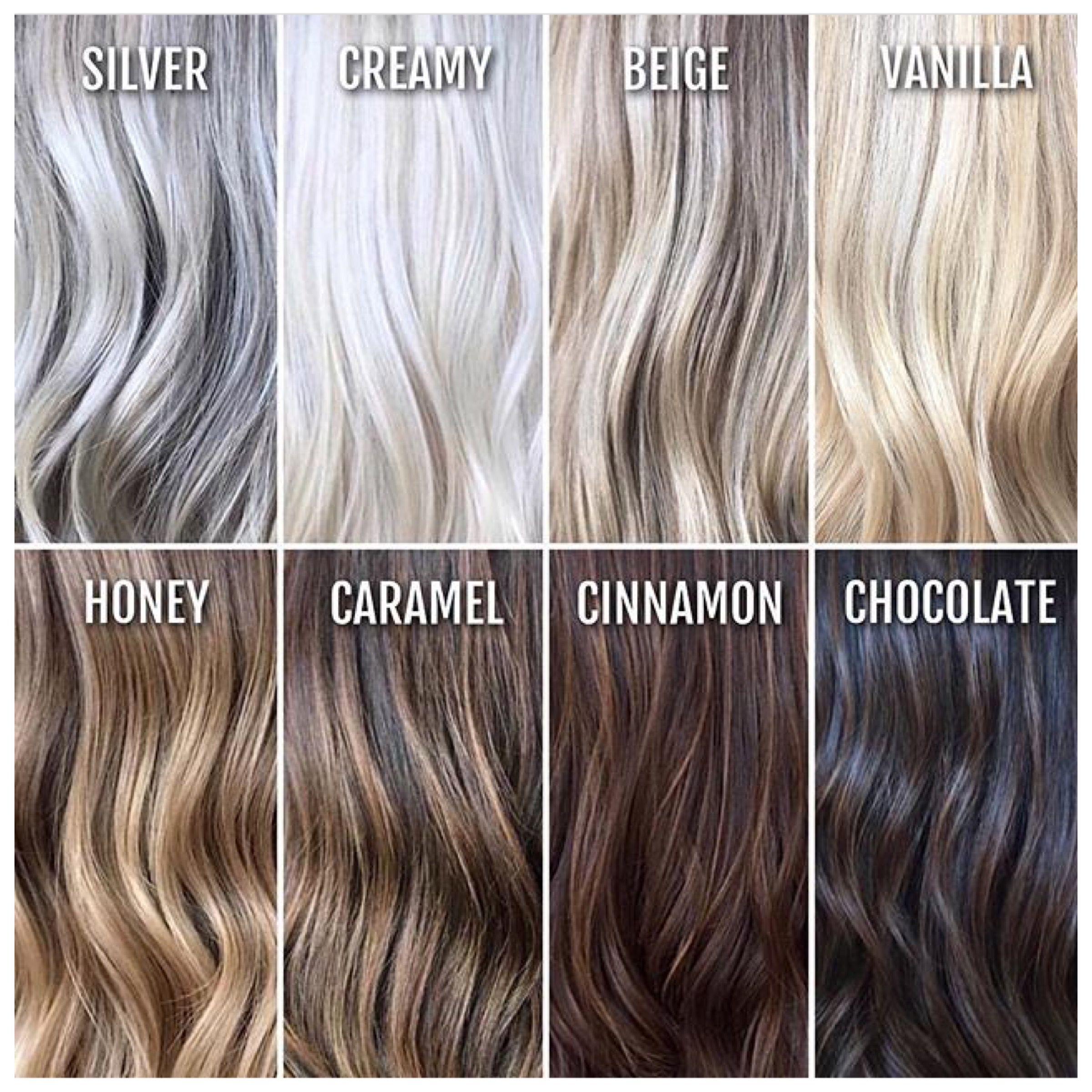 Hair Color Chart Hair Color Chart Hair Color Hair Styles