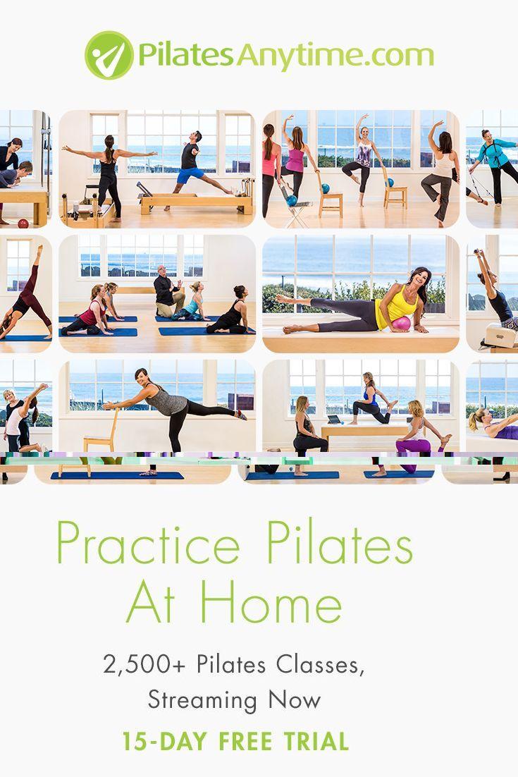 pilates reformer classes online free