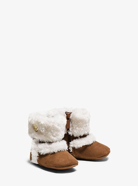 Girl's Grace Microsuede Boot Infant