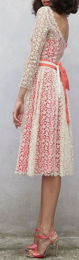 Romantic Lace Summer Dress