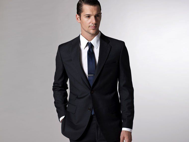 How to Dress According to Body Shape | Black suits, Wedding and ...