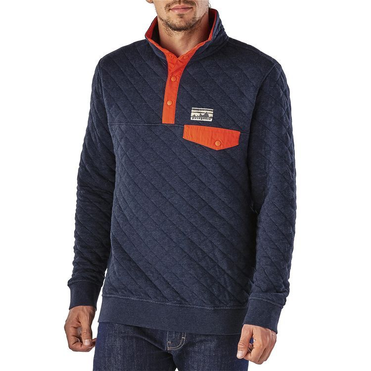 Men's Organic Cotton Quilt Snap-T® Pullover | Cotton quilts : patagonia quilted jacket - Adamdwight.com