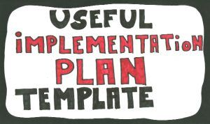 Implementation Plan Template Examples Tips Ppt Download