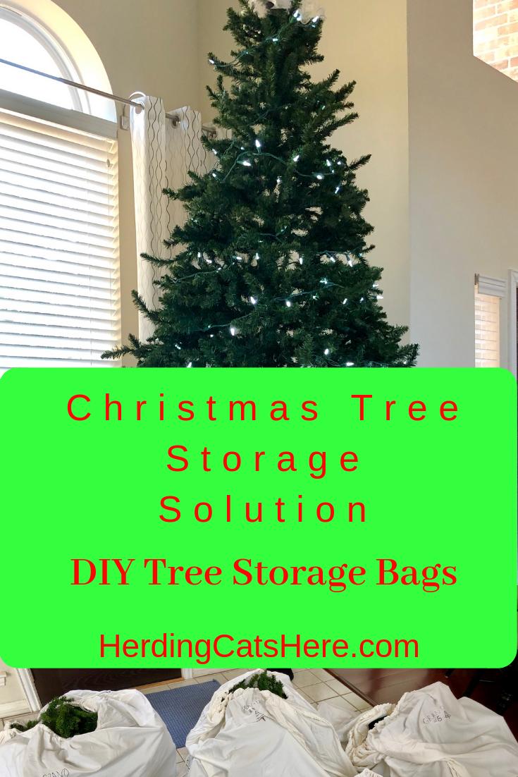 Artificial Christmas Tree Storage Solution Diy Christmas Tree Storage Bag Tree Storage Bag Diy Christmas Tree Storage