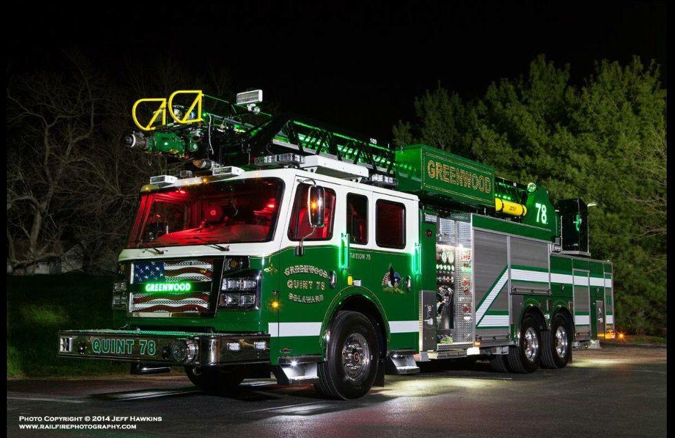 Greenwood, DE Fire Dept Quint 78   Fire trucks   Pinterest ...