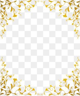 vector gold pattern frame vector golden pattern png and vector