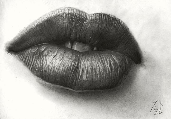The Juicy Lips Lips Drawing Drawing People Lip Pencil Colors