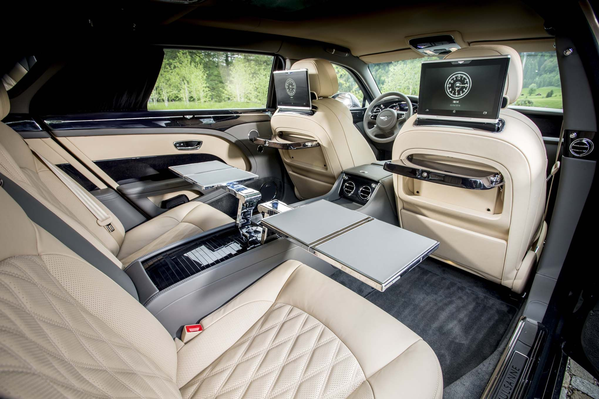 Bentley Limousine Interior Mulsanne Motors First Drive New