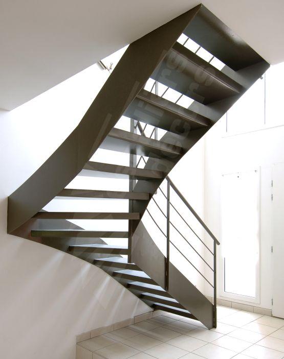 Photo DT30 - ESCA\u0027DROIT® 1/4 Tournant Intermédiaire Escalier