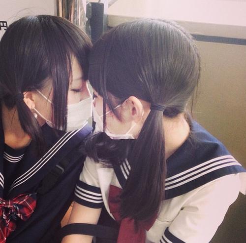 Japanische reife lesbe