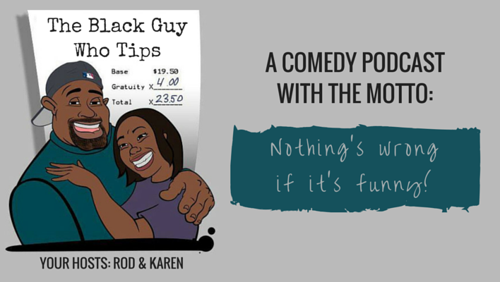 The Black Guy Who Tips Comedy Guys Funny
