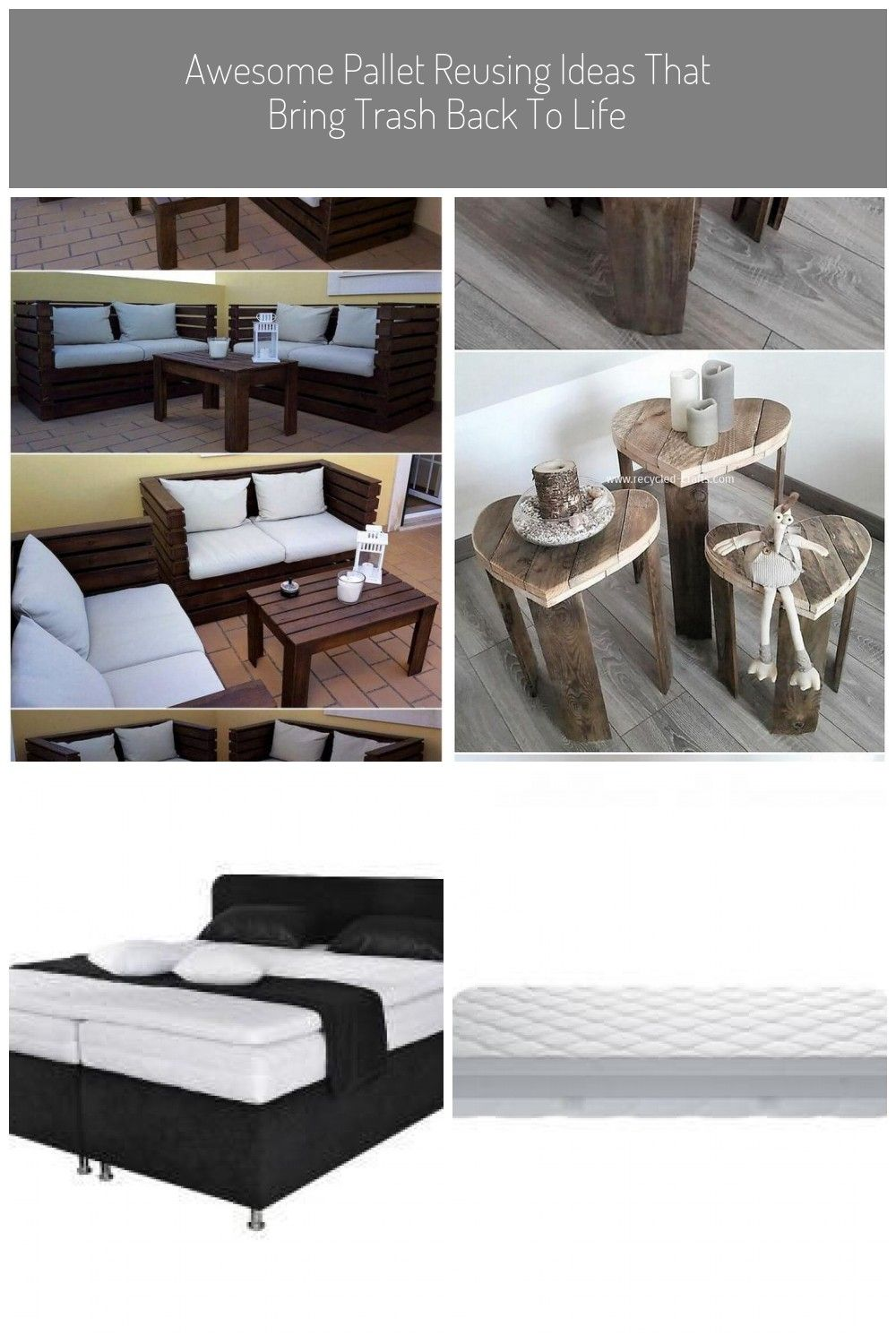 Pallet Outdoor Couch Set Pallet Furniture Awesome Pallet Reusing
