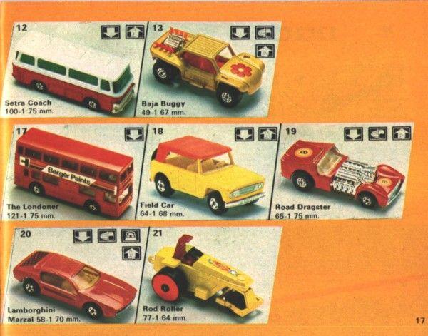 Matchbox 1975 Model Catalog