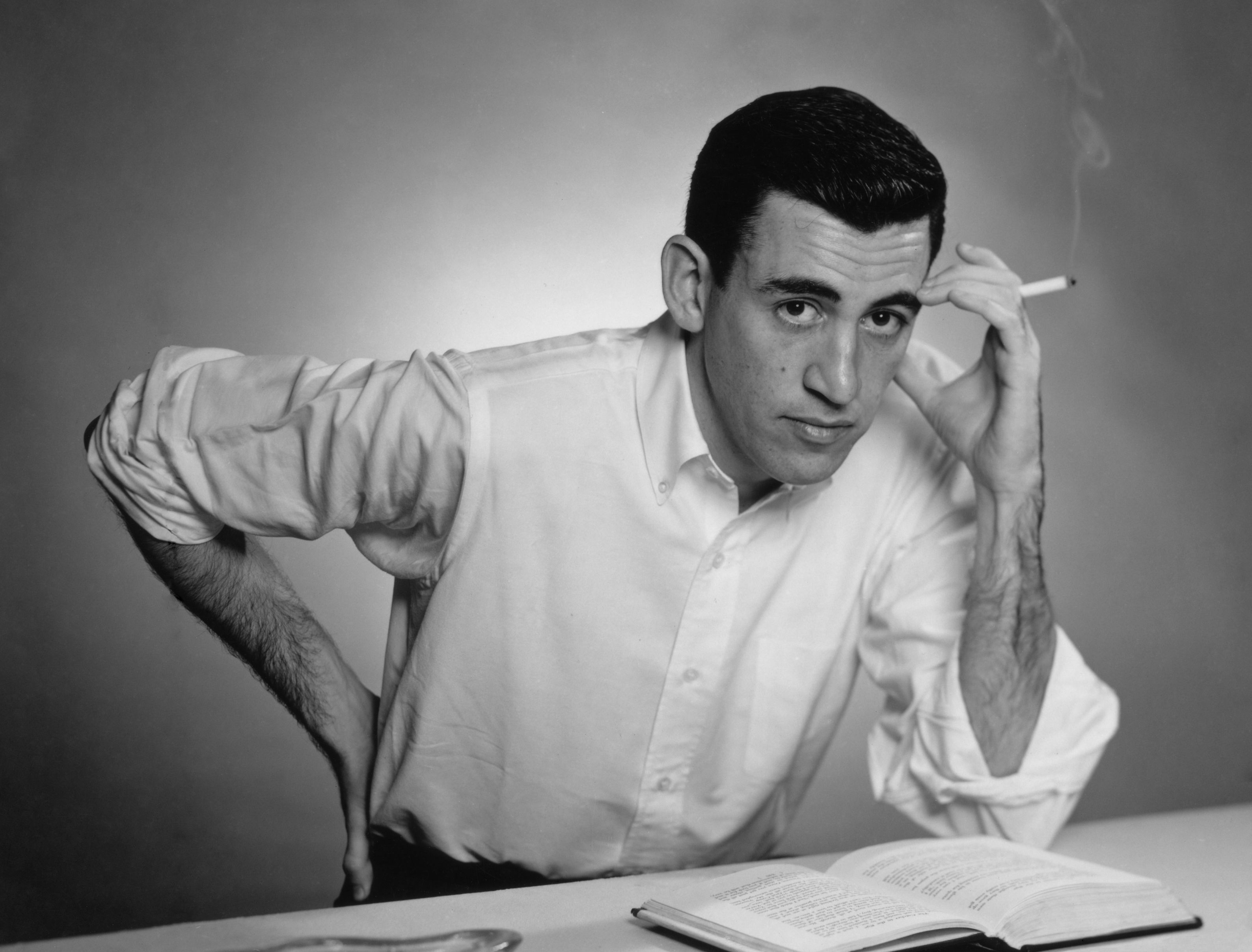 J D Salinger 1952 Jd Salinger Author Holden Caulfield