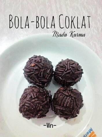 Resep Bola Bola Coklat Madu Kurma Oleh Weni Only Resep Madu Coklat Kurma
