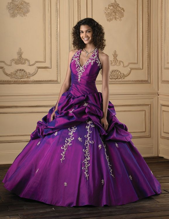Royal Purple Quince Dresses