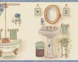 Bathroom Wallpaper Border In Borders