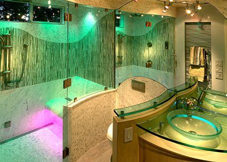 adding multi sensory into the bathroom via dewitt designer bathrooms in kbb pinned - Multi Bathroom Design