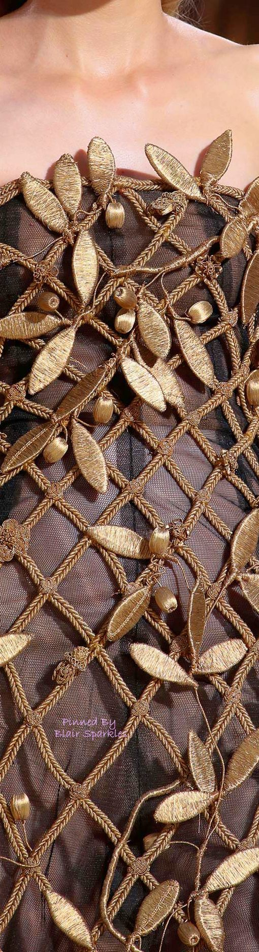 FALL COUTURE 2015 VALENTINO (Rome) Detail ~ ♕♚εїз | BLAIR SPARKLES |